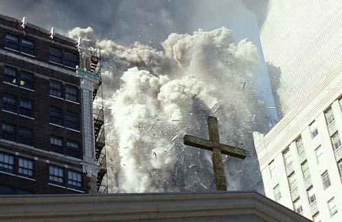 WTC stürzt ein