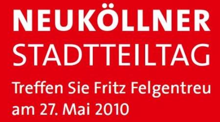 Stadtteiltag Fritz Felgentreu - 27. Mai 2010