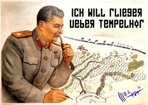Be 4 Tempelhof - Volksgesetzgebung fuer Flugbetriebsfetischisten