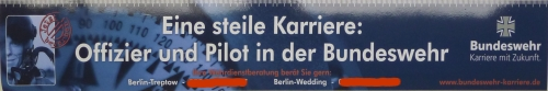 Scheiss Bundeswehr und seine Werbung